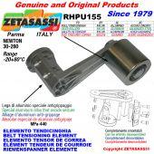 ÉLÉMENT TENDEUR DE COURROIE RHPU155 avec galet de tension Newton30:280