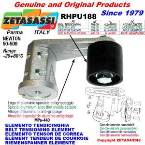 BELT TENSIONING ELEMENT RHPU188 with idler roller Newton50:500