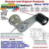 ÉLÉMENT TENDEUR DE COURROIE RHPU277 avec galet de tension Newton80:1200