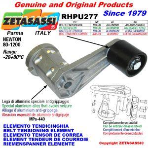 BELT TENSIONING ELEMENT RHPU277 with idler roller Newton80:1200