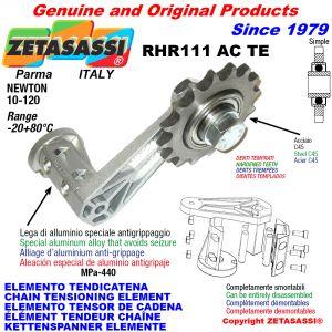 KETTENSPANNER ELEMENTE RHR111ACTE mit verhärteter Kettenräder und KettenRadsätze ACTE Newton10:120