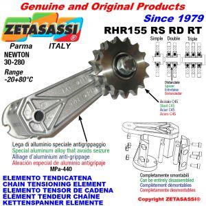 KETTENSPANNER ELEMENTE RHR155 mit Kettenräder und KettenRadsätze RS-RD-RT Newton30:280
