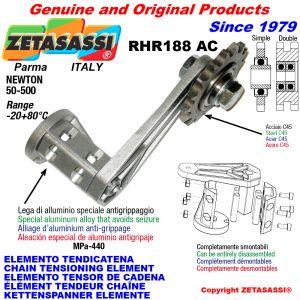 KETTENSPANNER ELEMENTE RHR188AC mit Kettenräder und KettenRadsätze AC Newton50:500