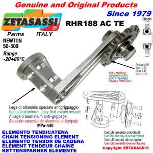 KETTENSPANNER ELEMENTE RHR188ACTE mit verhärteter Kettenräder und KettenRadsätze ACTE Newton50:500