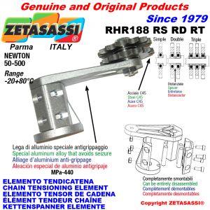 KETTENSPANNER ELEMENTE RHR188 mit Kettenräder und KettenRadsätze RS-RD-RT Newton50:500
