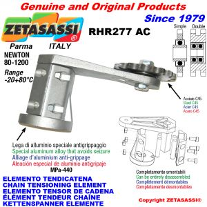 ÉLÉMENT TENDEUR DE CHAÎNE RHR277AC avec pignon tendeur AC Newton80:1200