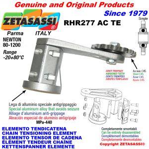 KETTENSPANNER ELEMENTE RHR277ACTE mit verhärteter Kettenräder und KettenRadsätze ACTE Newton80:1200