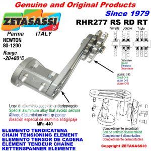 KETTENSPANNER ELEMENTE RHR277 mit Kettenräder und KettenRadsätze RS-RD-RT Newton50:500