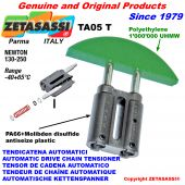 AUTOMATIC LINEAR DRIVE CHAIN TENSIONER TA05 round arch head Newton130:250