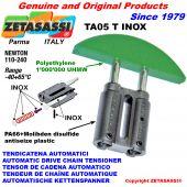 TENSOR DE CADENA TA05 INOX cabeza a arco redondo Newton110:240