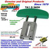 TENDICATENA AUTOMATICO LINEARE TA1 INOX testa ad arco ovale Newton110:240