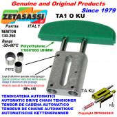 AUTOMATIC LINEAR DRIVE CHAIN TENSIONER TA1 KU oval arch head (PTFE bushes) Newton130:250