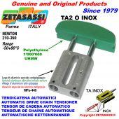 AUTOMATISCHE LINEAR INOX KETTENSPANNER TA2 INOX Ovalkopf gewölbt Newton210:350