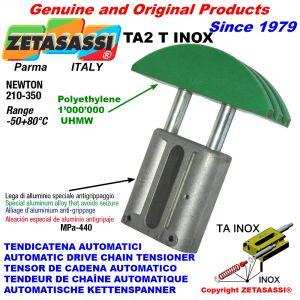 TENSOR DE CADENA AUTOMATICO LINEAL TA2 INOX cabeza a arco redondo Newton210:350