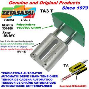 TENSOR DE CADENA AUTOMATICO LINEAL TA3 cabeza a arco redondo Newton300:650