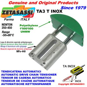 TENDICATENA AUTOMATICO LINEARE TA3 INOX testa ad arco tondo Newton250:450