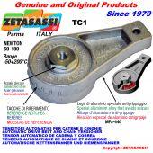 AUTOMATISCHE SPANNARM TC1 mit Bohrung oder Gewinde Newton50:180