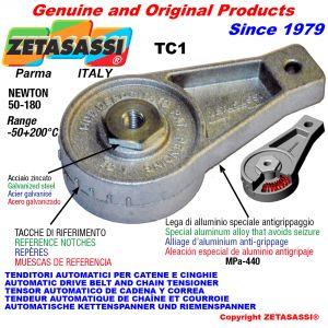 TENSOR AUTOMÁTICO ROTATIVO TC1 con agujero o rosca Newton50:180
