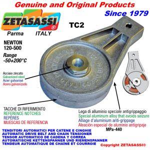 BRAS TENDEUR TC1 avec trou ou filetée Newton50:180