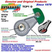 TENSOR DE CADENA AUTOMÁTICO ROTATIVO TCP1 patin tensor cadena cabeza oval Newton50:180