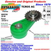 AUTOMATISCHE DREH KETTENSPANNER TCR05AC mit Kettenräder - KettenRadsätze AC Newton30:80