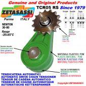 AUTOMATISCHE DREH KETTENSPANNER TCR05 mit Kettenräder und KettenRadsätze RS-RD-RT Newton30:80