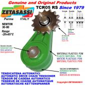 TENDICATENA ROTANTE TCR05 con pignone tendicatena RS RD RT Newton30:80
