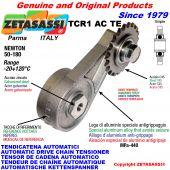 AUTOMATISCHE DREH KETTENSPANNER TCR1ACTE mit verhärteter Kettenräder - KettenRadsätze ACTE Newton50:180