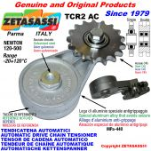 AUTOMATISCHE DREH KETTENSPANNER TCR2AC mit Kettenräder - KettenRadsätze AC Newton120:500