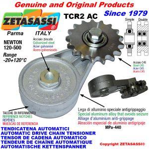 TENDICATENA ROTANTE TCR2AC con pignone tendicatena AC Newton120:500
