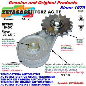 TENDICATENA ROTANTE TCR2ACTE con pignone temprato tendicatena ACTE Newton120:500