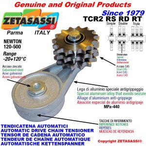 TENSOR DE CADENA AUTOMÁTICO ROTATIVO TCR2 con piñon tensor RS RD RT Newton120:500