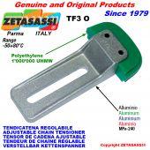 TENSOR DE CADENA AJUSTABLE TF3 con patin tensor cadena cabeza oval