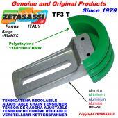 TENSOR DE CADENA AJUSTABLE TF3 con patin tensor cadena cabeza redonda