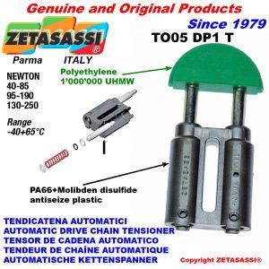 TENDICATENA TO05DP1 testa tonda (Corpo in PA66+bis. mol. testa in Polietilene) Newton40:85-95:190-130:250