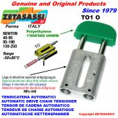 TENDICATENA AUTOMATICO LINEARE TO1 testa ovale Newton40:85 - 95:190 - 130:250