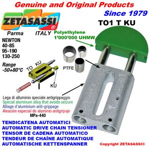 TENDICATENA AUTOMATICO LINEARE TO1KU testa tonda (Boccole PTFE) Newton40:85-95:190-130:250