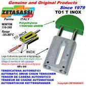 AUTOMATISCHE LINEAR INOX KETTENSPANNER TO1 INOX Rundkopf  Newton110:240
