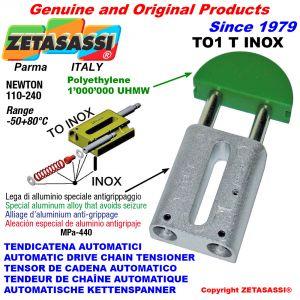 TENDICATENA AUTOMATICO LINEARE TO1INOX testa tonda Newton110:240