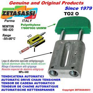 TENSOR DE CADENA AUTOMATICO LINEAL TO2 cabeza oval Newton180:420