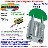 TENSOR DE CADENA AUTOMATICO LINEAL TO2 cabeza redonda Newton180:420