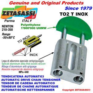 TENSOR DE CADENA AUTOMATICO LINEAL TO2INOX cabeza redonda Newton210:350
