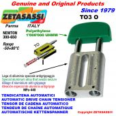 TENSOR DE CADENA AUTOMATICO LINEAL TO3 cabeza oval Newton300:650