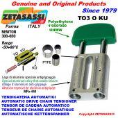 TENSOR DE CADENA AUTOMATICO LINEAL TO3KU cabeza oval (casquillos PTFE) Newton300:650