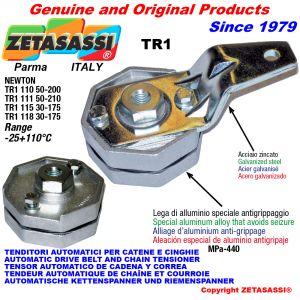 AUTOMATISCHE SPANNARM TR1mit Bohrung Newton50:200-50:210-30:175