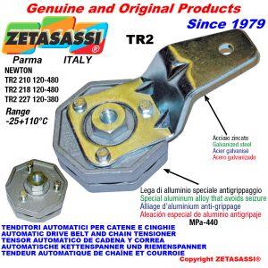 AUTOMATISCHE SPANNARM TR2 mit Bohrung Newton120:480-120:380