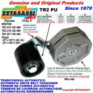TENDICINGHIA ROTANTE TR2PU con rullo tendicinghia Newton120:480-120:380