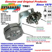 AUTOMATIC ARM CHAIN TENSIONER TRB1 with idler sprocket AC Newton30:175
