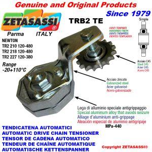 TENDICATENA ROTANTE TRB2 con pignone tendicatena temprato ACTE Newton120:480-120:380