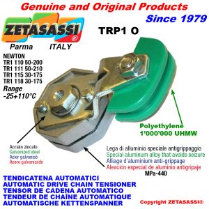AUTOMATIC ARM CHAIN TENSIONER TRP1 with chain slider oval head Newton50:200-50:210-30:175